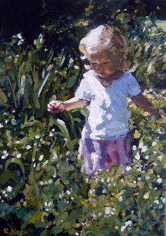 Jenny | 2011 Oil on canvas #RosKochArt