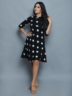 20 Ideas For Dress Pattern Summer Pockets Model Dress, Clothes For Women, Casual Dresses, Cotton Short Dresses, Blouse Designs, Dress Pattern, Ikat Dress, Frock Fashion, Cotton Kurti Designs