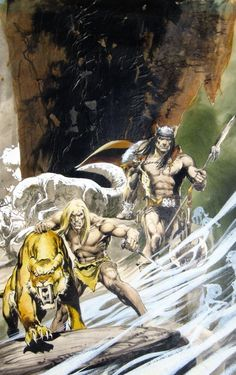 Ungoliantschilde — some paintings by Neal Adams.