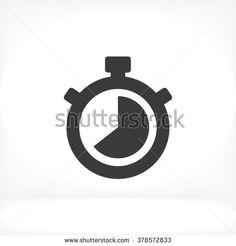 Stopwatch Icon, Stopwatch icon flat, Stopwatch icon picture, Stopwatch icon vector, Stopwatch icon EPS10, Stopwatch icon graphic, Stopwatch icon object, Stopwatch icon JPEG, Stopwatch icon picture - stock vector