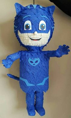 Catboy Pinata inpired by PJ Mask by PinatasUSA on Etsy