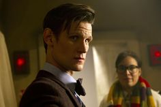 """Wait, is that what I think it is in the background? (New Photos From The """"Doctor Who"""" 50th Anniversary Episode)"""