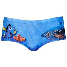 Topshop  Finding Nemo  Cheeky Low Rise Briefs featuring polyvore fashion  clothing intimates panties topshop fa93ea774