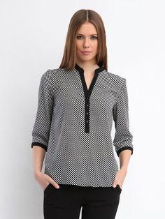 koszula długi rękaw  czarna  - SKL1557 koszula długi rękaw - TOP SECRET - Odzieżowy sklep internetowy TOP SECRET Work Blouse, Tunic Tops, Blouses, Trends, Inspiration, Women, Fashion, Biblical Inspiration, Moda