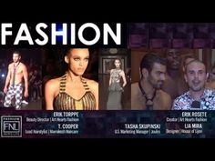 Art Hearts Fashion Couture | NY Fashion Week | Runway Exclusive