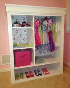 Princess closet!  Love this!