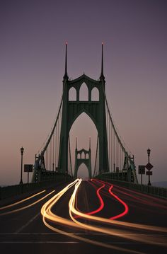 St. Johns Bridge by Cameron Booth