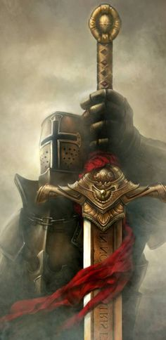 Knight Sword, Knight Art, Angel Warrior, Fantasy Warrior, Medieval Knight, Medieval Fantasy, Crusader Wallpaper, Wallpaper Winter, Wallpaper Desktop