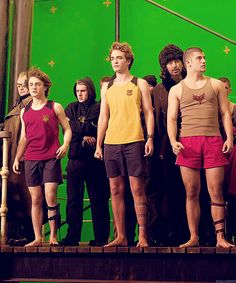 Harry Potter green screen with Rob