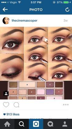 Too Face Chocolate Bar Tutoriel Insta   Thecinemascoper Coiffure Maquillage,  Tuto Maquillage, Coiffure Et 3a27158cda3e