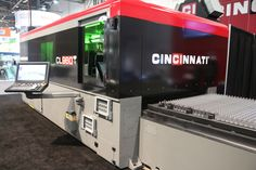 Seen at #Fabtech2016 this @CINCINNATI_INC #fiberlaser cutter highlights the various considerations fabricators must keep in mind when they're in the market for new equipment. http://www.shopfloorlasers.com/laser-cutting/fiber/350-critical-considerations