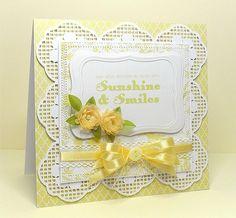 free svg sunshine and smiles female card mum birthday