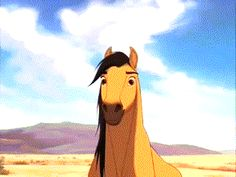 Dreamworks Movies, Dreamworks Animation, Disney And Dreamworks, Spirit The Horse, Spirit And Rain, Cute Horses, Beautiful Horses, Horse Movies, Childhood Movies