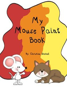 This book goes with Mouse Paint by Ellen Stoll Walsh. This is a great follow up activity after reading the book to review the colors. Your students will get to create their own Mouse Paint Book by coloring in the mice.Created in black and white for easy copying and duplicating.