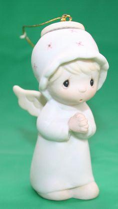 Precious Moments The First Noel Angel Miniature Ornament E-2368
