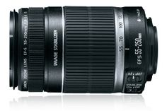 We also have this telephoto lens on-hand in the event of across-the-water shots and more:  Canon EF-S 55-250mm f/4-5.6 IS