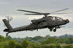 US Army AH64 Apache helicopter, RIAT 2015, Photo : André Bour