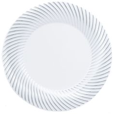 Plastic 10 1/4 Inch White Dinner Plate with Silver Rim/Case of 120 Tags:  Dinner Plates; Swirl Collection; disposable Dinner Plates;plastic Dinner Plates;catering Dinner Plates;wedding Dinner Plates;;; https://www.ktsupply.com/products/32813350131/Plastic-10-14-Inch-White-Dinner-Plate-with-Silver-RimCase-of-120.html