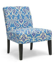 Look at this Bohemian Linen Leisure Chair on #zulily today!