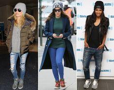 Also Winter hats can make a super-stylish fashion statement !! Come indossare cappelli invernali guardando le celebrità ...