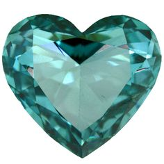 Beautiful Blue Heart Gem