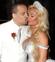 Ice-T and Coco began dating and got married all in the same year. This reality TV couple got married after only two months of dating back in Unlike other marriages we have seen in Hollywood, the age difference (Coco 33 and Ice-T hasn't pulled them apart! Celebrity Wedding Photos, Celebrity Couples, Celebrity Weddings, Celebrity Style, Wedding Renewal Vows, Wedding Ceremony, Star Wedding, Dream Wedding, Wedding Couples