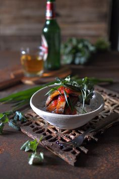 Get the flavours of Thai street food into your kitchen with this delicious Thai bbq pork recipe. Sweet Chilli Sauce, Sweet Chili, Pork Recipes, Asian Recipes, Around The World Food, Taiwanese Cuisine, Thai Street Food, Bbq Pork, Grilled Pork