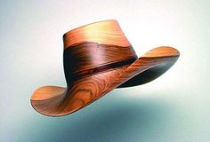 Wooden HatsChris Ramsey has come full circle. After spending years in New York, Utah and California, Chris is now living in Somerset, Kentucky, where his parents were born.  It is, he says, the most beautiful place in the world, a place where he's made a name for himself as a master wood turner. His specialty? Wooden hats   Wooden Hats by Chris Ramsey - Read more: http://www.country-magazine.com/short-stories/country-life-stories/chris-ramseys-wooden-hats/#ixzz3Nu5egBUg