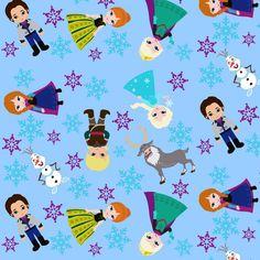 Snowday fabric by 1211lynn on Spoonflower - custom fabric