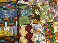 African Fabrics from Senegal sold in Praia, Cabo Verde!