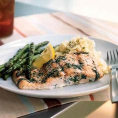 Try this baked salmon and dill recipe for an easy and fresh summertime meal.Chef Martin Breslin's approach is to build a student's confidence in the kitchen with simple recipes using basic ingredients. The delicate combination of fresh dill and lemon lend just enough flavor to add interest to plain baked fish.