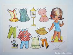 Paper Art, Paper Crafts, Doll Toys, Paper Dolls, Retro, Album, Illustration, Kids, Victoria