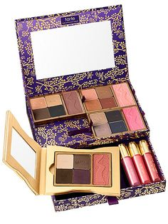 10 Beauty Presents on Editors' Wish Lists | TARTE GORGEOUS GETAWAYS PORTABLE PALETTE | Whitney: If there's one thing I love, it's a good deal. And if there's a second thing, it's having options when I travel (you should see my suitcase for an overnight trip). Enter this find, which has 16 eye shadows, four blushes, three lip glosses and a gold compact. And, even though it's valued at $433, I can have endless amounts of makeup options at my fingertips for a tenth of the cost.Buy It! ulta.com…