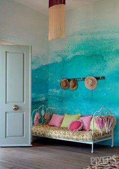ombre-blue-wall-mural.jpg 610×865 pixels