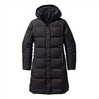 Patagonia Down With It Parka  Womens  Black