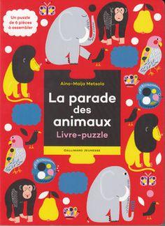 La parade des animaux - Documentaires - Petite Enfance - Livres pour enfants - Gallimard Jeunesse