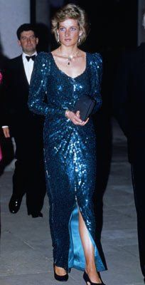 charity ball at Osterley House, Middlesex, May 1989.