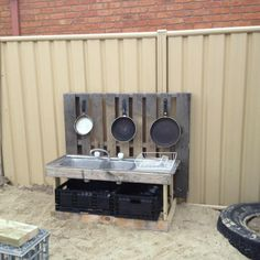 "Outdoor kitchen at Forever Friends ELC and Kindergarten ("",)"