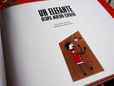 Childrens Story (Un Elefante Ocupa Mucho Espacio) by Patricia Codina, via Behance
