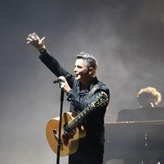 Alejandro Sanz in concert in Marbella