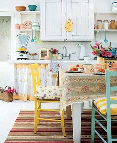 Cute-Quaint Kitchen Design, Pictures, Remodel, Decor and Ideas - page 7