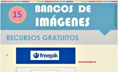 Quince bancos de imágenes libres en una infografía – Soft & Apps
