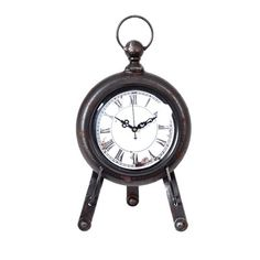 Wilco Round Pocket Watch Table Clock