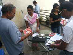 eetti Our team members distribute eetti pamphlets ....Join http://eetti.com