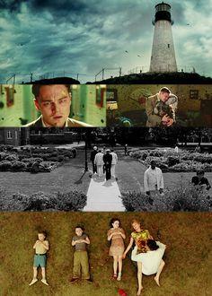 Shutter Island (2010) // DIR: Martin Scorsese // CAST: Leonardo DiCaprio, Mark Ruffalo, Ben Kingsley, Max von Sydow, Michelle Williams.