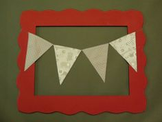Baby shower decoration that doubles as nursery decor.  Gotta love it. Custom Mix and Match Fabric Flag Banner. Zoo by ThePartyOrchard, $20.00