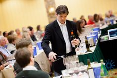 Pour me another please! Wine seminars during Taste of Vail combine education and lots of tasting...