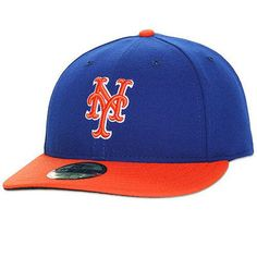 8fac5b8a25c2d Men s New York Mets New Era Royal Orange Authentic Collection Low Profile  59FIFTY Fitted Hat
