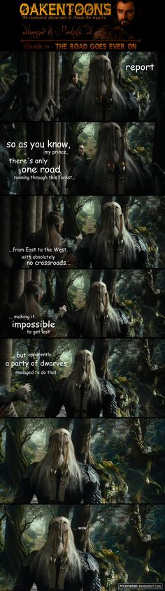 Typical Dwarves. If only you had the ability of us Elves.