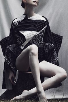 """""""The Forest"""" by Iga Drobisz for Dahse Autumn/Winter 2014."""